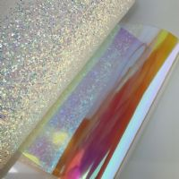 Iridescent Red | Iridescent Holographic Clear Transparent